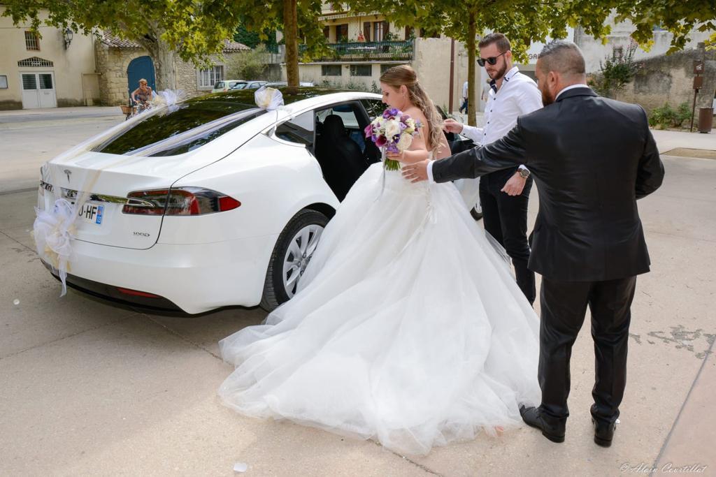 voiture mariage pelissanne
